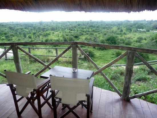 Tarangire River Camp:                   Great view
