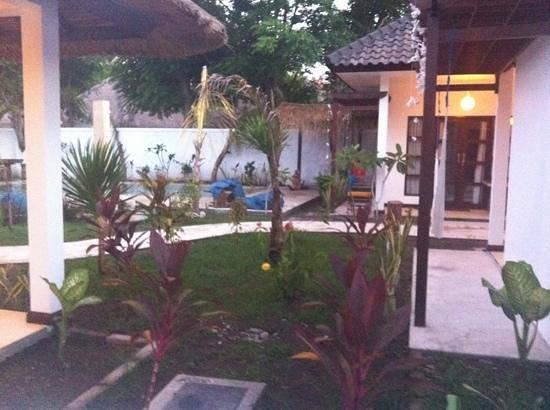 Casus Dream Hotel:                   garden