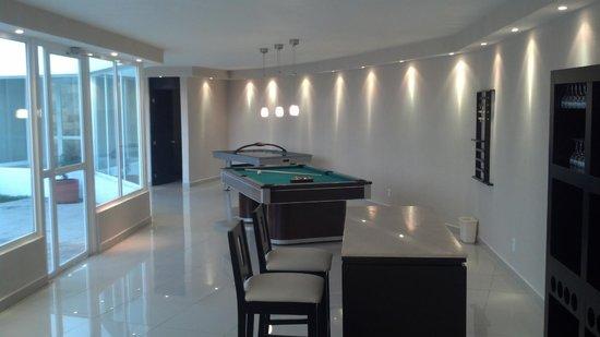 City Express Suites Toluca: Sala de Recreacón