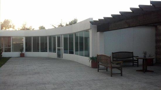 City Express Suites Toluca: Asador