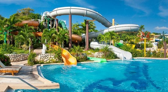 Beaches Ocho Rios Resort & Golf Club:                   water slide