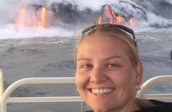 Lava Ocean Tours Inc :                   LAVA FLOWS YOU GET THIS CLOSE