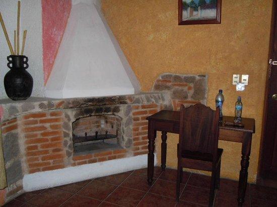 Hotel Real Plaza:                   La cheminée