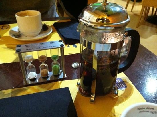 Sargantana Para Llevar :                   Post dinner tea