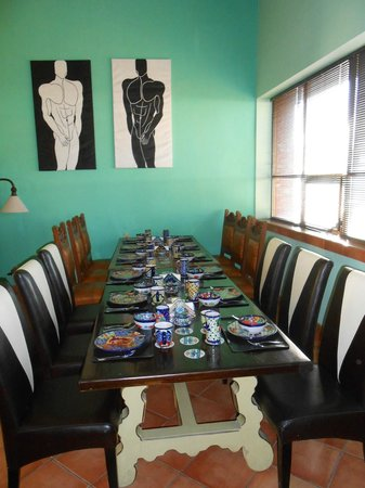 Casa Alebrijes Hotel:                   The Breakfast Room