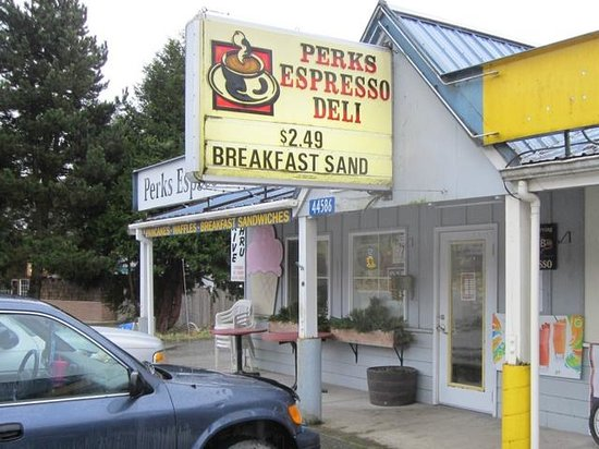 Perks Espresso and Deli:                   Front