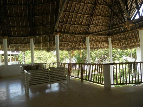 Kola Beach Resort:                   veranda