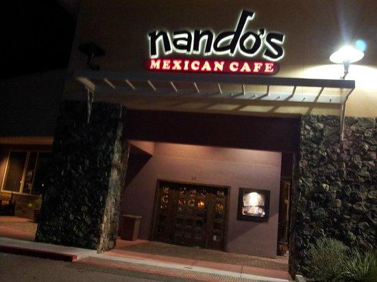 Nando's Mexican Cafe : Entrance to restaurant