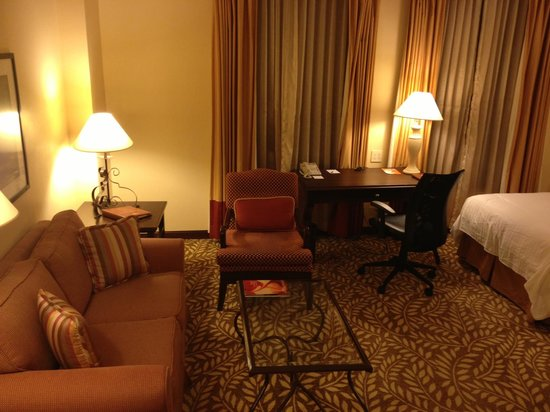 Panama Marriott Hotel:                   living para descansar o conversar