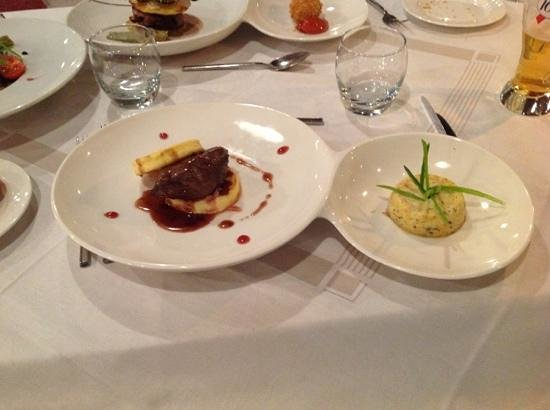 Grand Hotel Plombières Les Bains :                   beautiful dinner