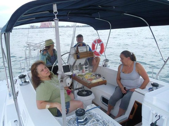 Broad Reach Charters:                   Total Relaxation..for now!