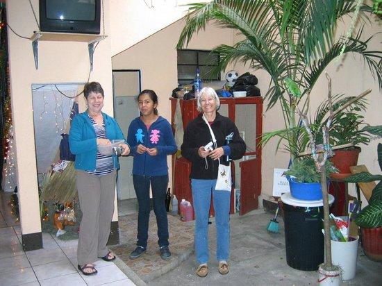 Casa de Familia Mama Lu:                   En el patio