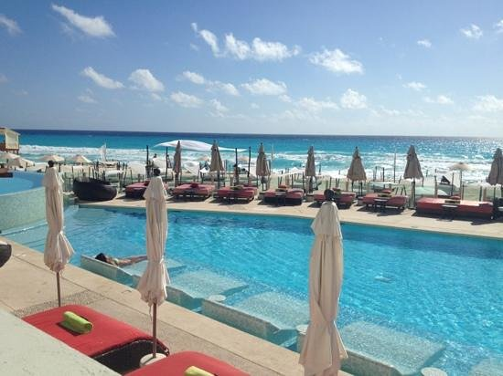 ME Cancun:                   exclusive pool