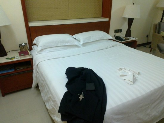 Guesthouse International Hotel:                   The bed