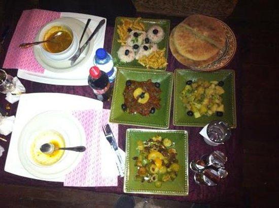 Hotel Bin el Ouidane :                                     starter ;)