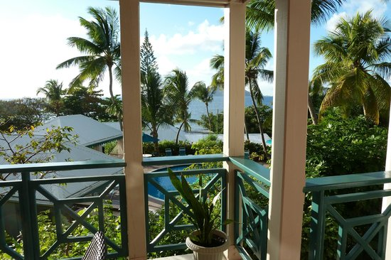 Sugar Mill Hotel :                   view from balcony