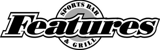 FEATURES SPORTS BAR AND GRILL: Logo