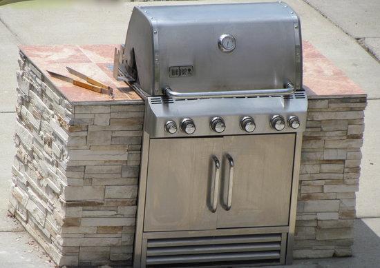 Residence Inn Detroit Livonia: grill