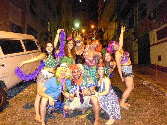 CabanaCopa Hostel: Carnival