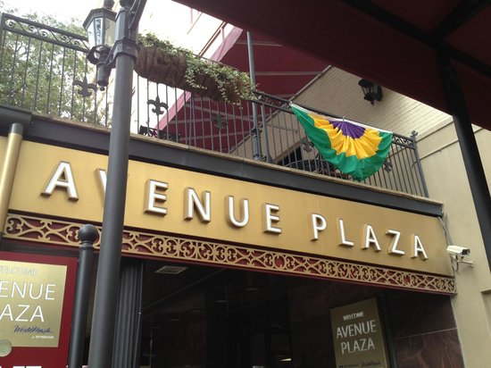 Avenue Plaza Resort:                   Avenue Plaza New Orleans