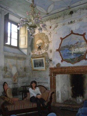 Villa Cavadini Relais :                   one of the beautiful sitting rooms