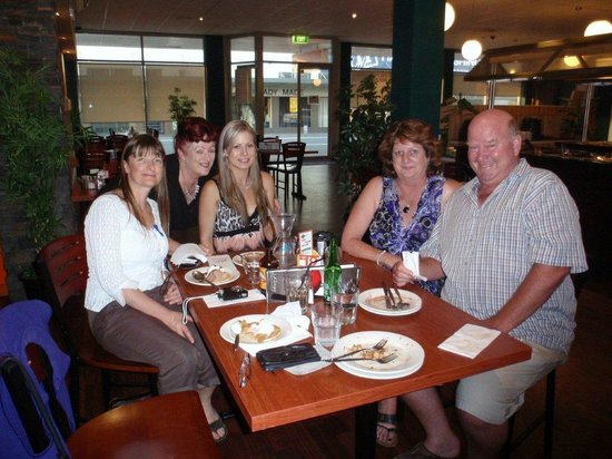 Gengy's:                                                       Family farewell for Kelsey