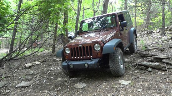 Captivating Rush Springs Ranch: Jeep On Trail