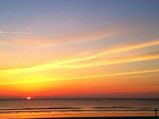 Saint Augustine Beach, FL:                                     Best sunrise