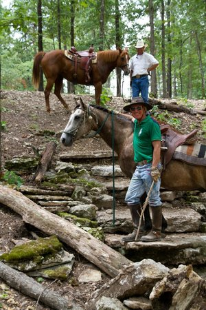 Rush Springs Ranch: In Horse Obstacle Course