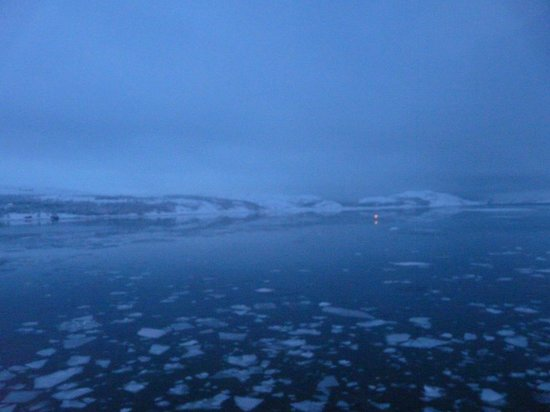 Thon Hotel Kirkenes:                   View from room