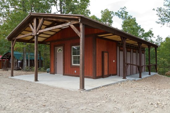 Rush Springs Ranch: Our Shower and Bathroom Facility