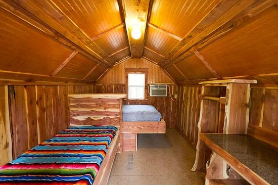 Rush Springs Ranch: Inside One of Our Cabins