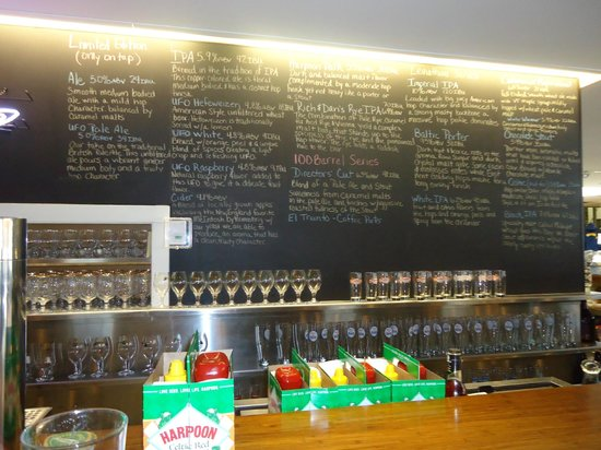 Harpoon Brewery:                   Beer