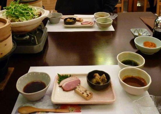 Gora Ichinoyu:                   Dinner