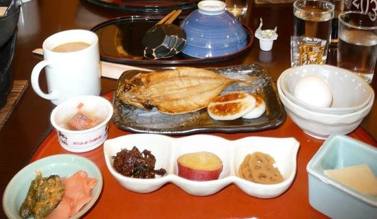 Gora Ichinoyu:                   Breakfast