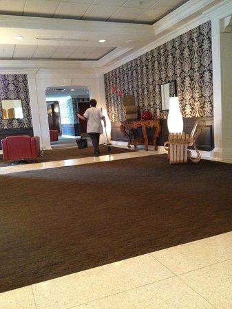Capitol Skyline Hotel:                   lobby