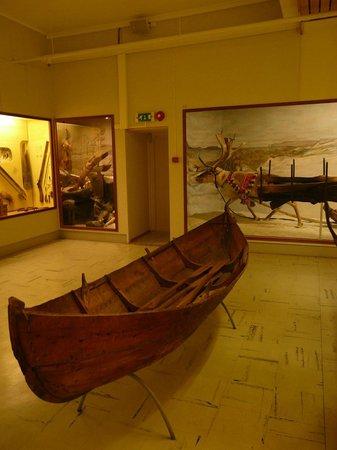 Tromso Museum:                                     Sami exhibition