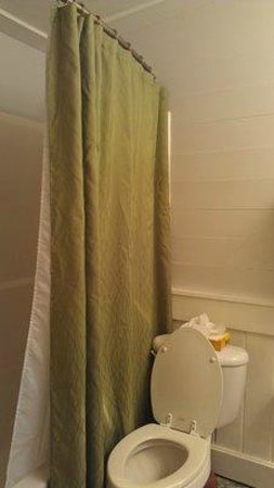 Andrews Inn and Garden Cottages:                   Shower & Toilet