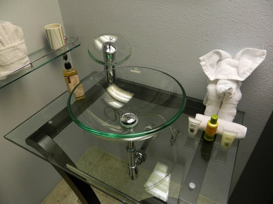 International Hotel & Suites:                   Cool sink!