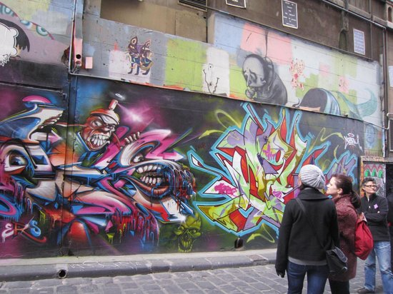 Melbourne Street Tours: Hoiser Lane 2012