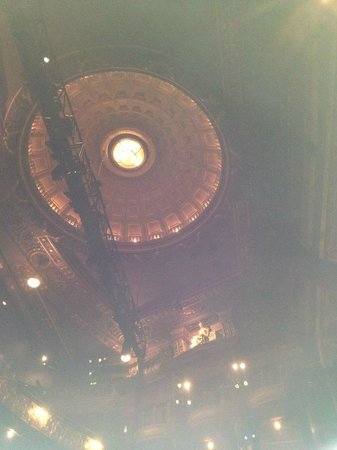 Palace Theatre:                   lovely ceiling