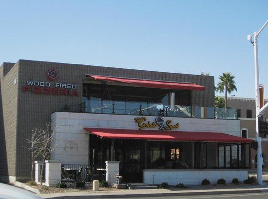 Gelato Spot Caffe:                                     The Gelato Spot-front entrance
