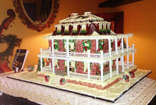 The Reynolds Mansion:                   Gingerbread Mansion Replica