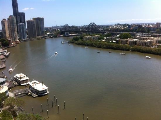 Stamford Plaza Brisbane:                   river view