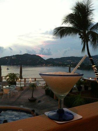 Hotel Irma :                   First Margarita at Hotel Restaurant