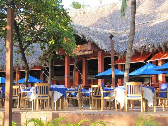 Barcelo Montelimar Beach:                                     Restaurent Oceane Vue exterieur