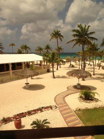 Manchebo Beach Resort & Spa:                   View from room 42