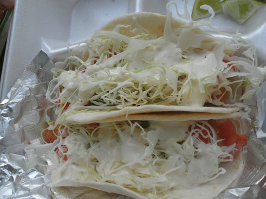 Steak Boss:                   Fish Tacos