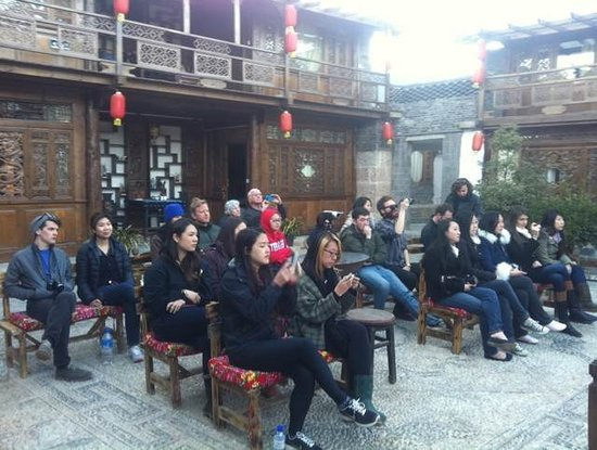 Baisha Holiday Resort Lijiang : Naxi ancient orchestral music show