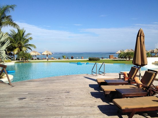 Secrets St. James Montego Bay:                                     Preferred Club Pool...as good as it looks